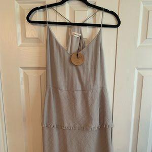 Gray Summer Dress